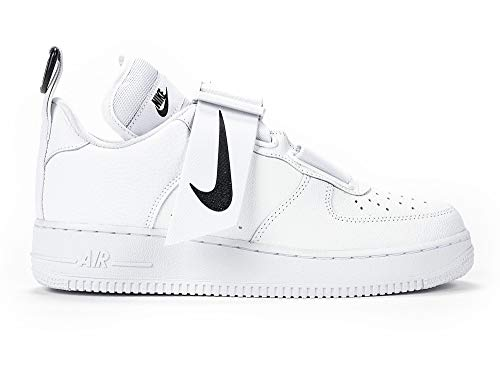 Nike Sneakers Air Force 1 Utility White-Black AO1531-101 (40 - Bianco)