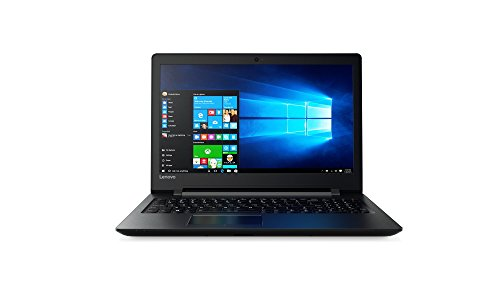 Lenovo IdeaPad 110 39,6 cm (15,6 Zoll HD TN Glare) Notebook (AMD A6-7310 Quad-Core, 4GB RAM, 1TB HDD, DVD-Brenner, AMD Radeon R4, Windows 10 Home) schwarz