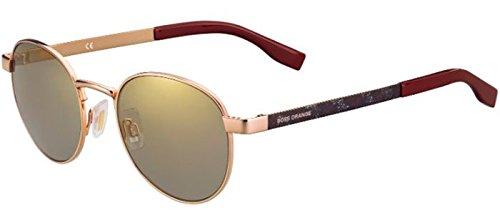 Hugo Boss Herren Sonnenbrille goldfarben gold
