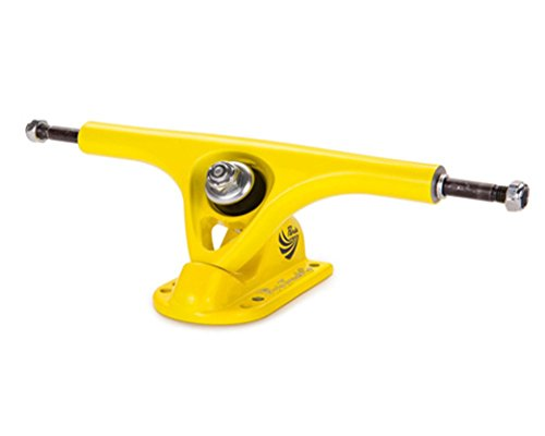 Ejes de Longboard ¨Paris¨. Paris Longboard Trucks Yellow (Set 2) - Trucks Paris Longboard