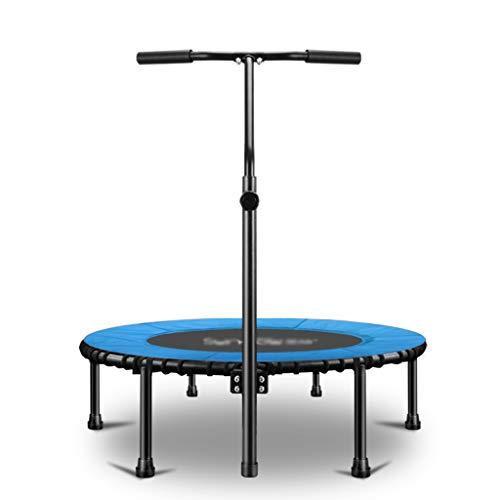 Fitness-Trampolin, Indoor/Outdoor,Höhenverstellbarer Haltegriff, Trampolin für Jumping Fitness, Nutzergewicht bis 200kg, Ø 39inch