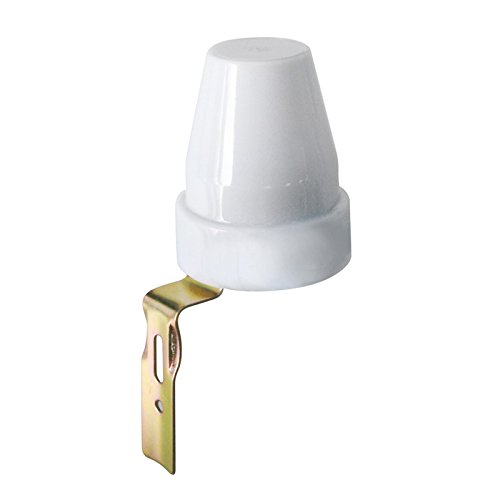 Interruptor con sensor crepuscular para lámparas LED de exterior (10A 220V)