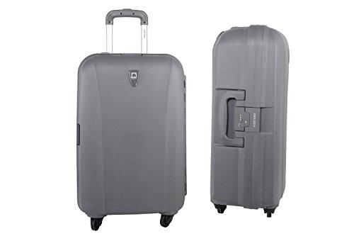 Valigia trolley rigida medio DELSEY grigio bagaglio a 4 ruote S312