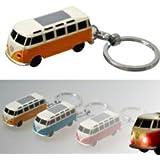 VW Bulli LED-Schlüsselanhänger Volkswagen Typ2 (1962) in orange