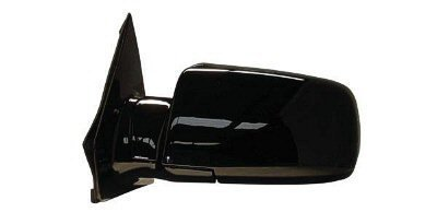 2000-2005 Chevrolet/Chevy Astro Van, GMC Safari Van Power Gloss Black Below Eyeline Type Rear View Mirror Left Driver Side (2000 00 2001 01 2002 02 2003 03 2004 04 2005 05) by Aftermarket Auto Parts