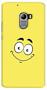 Kasemantra smile Face Case For Lenovo K4 Note