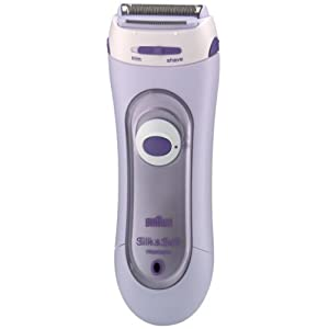 Braun Silk&Soft 5560 Ladies Rechargeable Electric Shaver