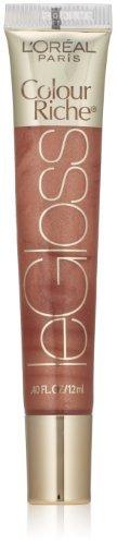 L'Oreal Paris Colour Riche Le Gloss, Nude Illusion, 0.40 Ounces by L'Oreal Paris