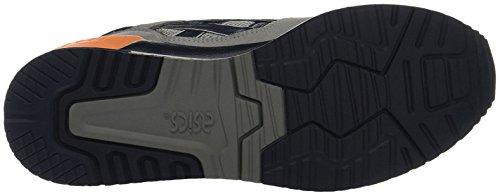 Asics Damen Gel-Respector Sneaker Hellgrau/Marine