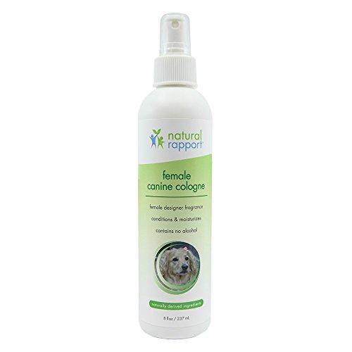 Natural Rapport - Spray de Colonia para Perro, 3 en 1, desodorizador...