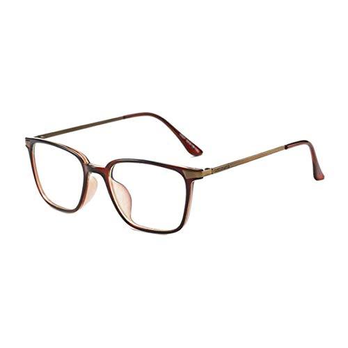 DAIYO Blaulichtblockierung Computer-Brille Quadratische Brillen Transparente Linse Männer Frauen