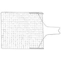 SCHULLER Abstreifgitter aus verzinktem Metall, 260 x 300 mm, 1 Stück, 40460