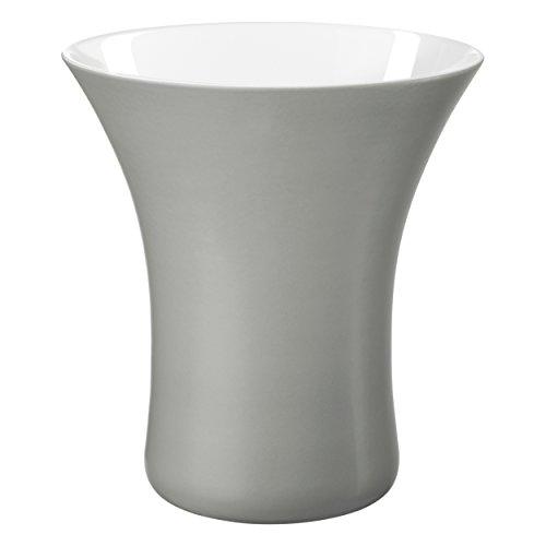 Vaso Vase Graphite D. 21/13 cm, h. 22 cm