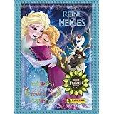 Lot de 5 pochettes de 5 stickers Reine des neiges - Deux Sœurs pour la vie
