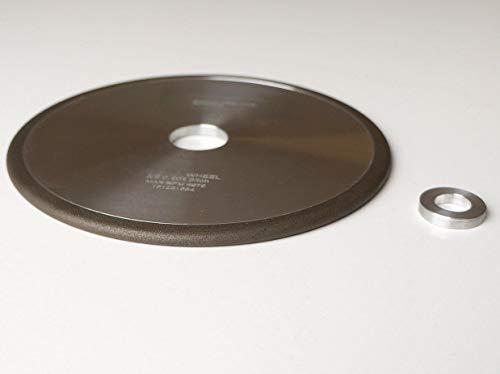 BAT 146mm CBN Schleifscheibe für Kettensägenschärfen und Schleifen, Teilung 3/8.404, Superabrasive Kettensäge 146mm Rad