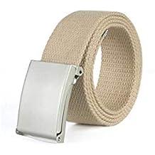 Battercake Cinturón De Lona Para Hombre Y Mujer Jeans De Macarons Con  Cinturón Cómodo De Lona 79f997ebb372