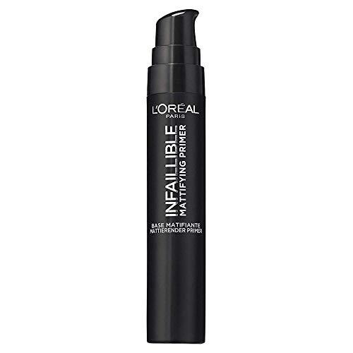 L\'Oréal Paris Infaillible Mattifying Primer, mattierende Make-up-Grundierung, mit Anti-Glanz-Effekt, bereitet die Haut optimal auf das Make-up vor