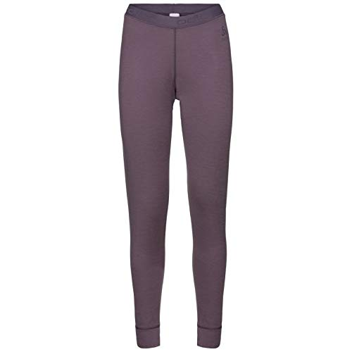 Odlo Merino Warm Bottom Pant Women - Vintage Violet -