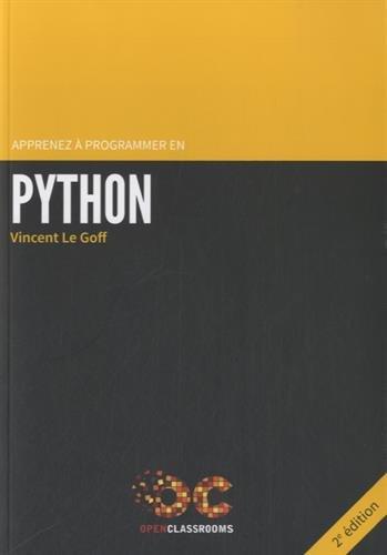 Apprenez à programmer en Python - 2e