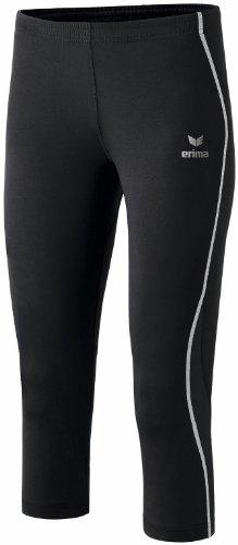 Erima performance pantalon de sport 3/4 pour femme Noir - Noir