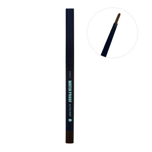 NEW Long lasting Waterproof Automatic Eyeliner Pencil *Black Korean Make up Cosmetic by THEFACESHOP