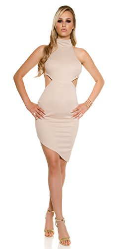 In-Stylefashion - Robe - Femme beige beige taille unique Beige