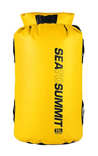 Sea to Summit Hydraulic Dry Pack with Harness 35l Yellow 2019 Reisegepäck
