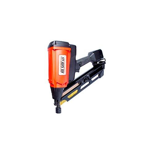 Alsafix - Cloueur pour bois à gaz sans fil 6 V NiMh pour pointes en bande 34° - D 90 G1 - 12A3490N Alsafix