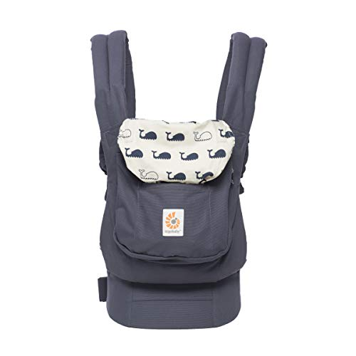 Ergobaby Baby Carrier Front and Back Original Marine 5.5 to 20kg, Ergonomic Breathable Child Carrier Backpack, BCANMARINE  Ergobaby