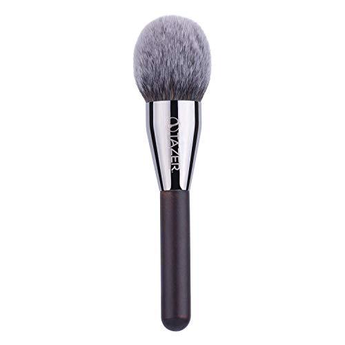 Tazer Make-up Pinsel mit Holzgriff, einzelner Schmink-Pinsel für Makeup, Foundation, Puder, Blush,...