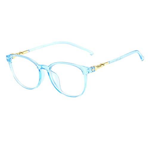 Trisee ✔ Brille Ohne SehstäRke, Klassisch Brille Ohne SehstäRke Damen Blaulichtfilter Brille Hippie Brille Nerd Brille Runde Brille Retro Sonnenbrille Herren Sonnenbrille Damen Ultra Light