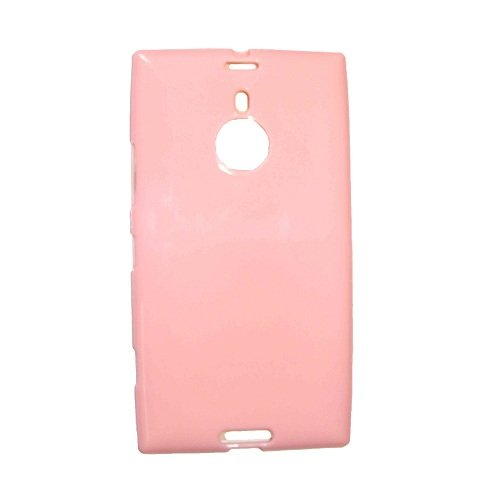 Casotec Soft TPU Back Case Cover for Nokia Lumia 1520 - Baby Pink  available at amazon for Rs.119