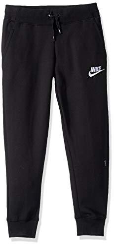 Nike Mädchen Sportswear PE Hose, Black/White, S