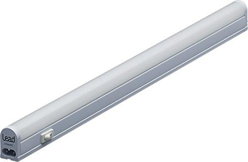 LED Unterbauleuchte |27.5cm | warmweiß | LED Lichtleiste 4W | extrem hell -285 Lumen | bis 12 Meter nahtlos erweiterbar | geeignete Lampe für die Küche, hinter Möbel, im Werkraum