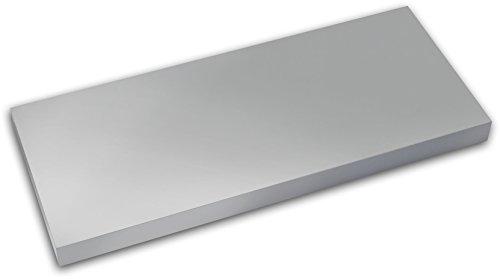 Element System Wandboard / Wandregal 600 x 250 x 38 mm / 4 Größen / 5 Dekore, silber,18133-00370