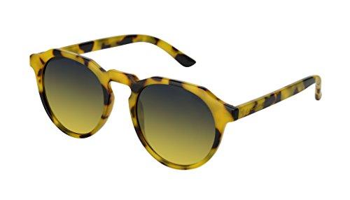 Me.Too summer 2018 occhiali da sole - 3.8 montatura demi miele, lente gradient fumo/ocra