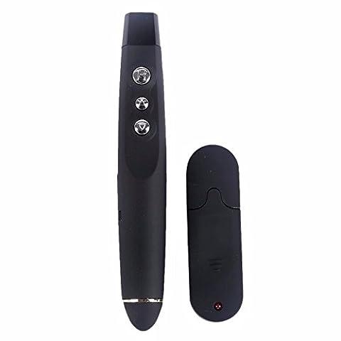 Sans fil USB PPT Presenter PowerPoint Télécommande Présentation Pointer avec pointeur laser rouge.