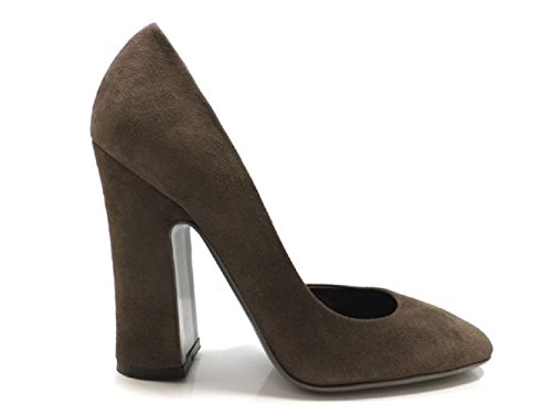 halston-zapatos-de-salon-mujer-gamuza-marron-37-eu