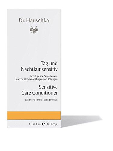 Intensivkur Lotion (Dr. Hauschka Tag und Nachtkur sensitiv unisex, beruhigende Ampullenkur, 10 x 1 ml, 1er Pack (1 x 42 g))