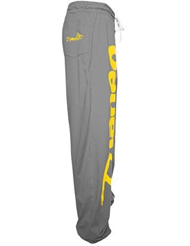 Jogginghose Herren und Damen. Sporthose Djaneo Rio Baumwolle. Hosen in 35 farben. grau und gelb