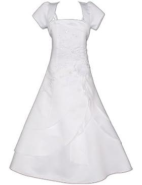 Cinda Mädchen Brautjungfer Heilige Kommunionkleid