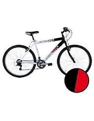 "'Vertek vélo Reiko pour homme 26""18vitesse rouge/noir (MTB)/Bicycle Reiko for Man 2618Speed Red/White (MTB)"