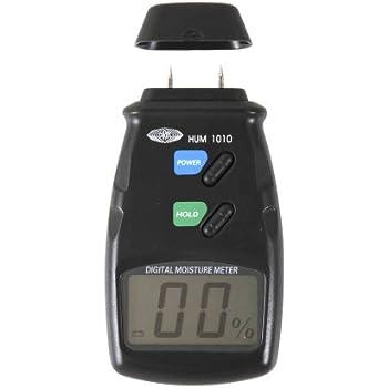 Wolfcraft 8732500 1 Testeur D'humidité Du Bois Écran Lcd Mesure 10 à 40% Livré avec Pile 9 V