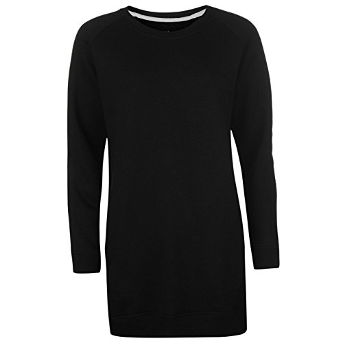 Golddigga Femmes Sweat Robe col rond Noir