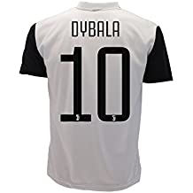 Camiseta Jersey Futbol Juventus Dybala 10 Replica Autorizado 2017-2018 Niños Adultos (Talla Medium)
