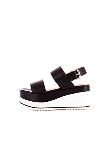 Janet Sport 43726 Sandalo Donna Nero 36