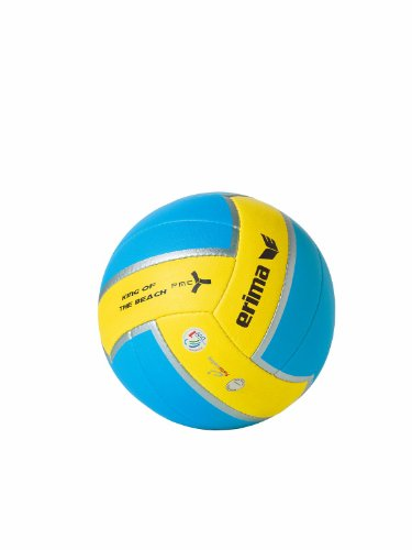erima Volleyball King of The Beach, Aqua/Gelb, 5, 740102 Image