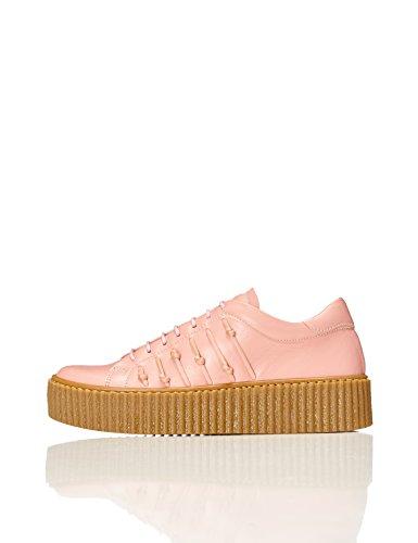 Find. Zapatillas de Piel para Mujer