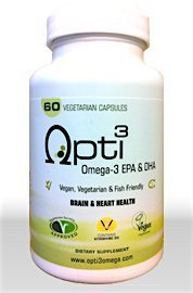 Oméga 3 (végétal) Opti3 - 60 capsules