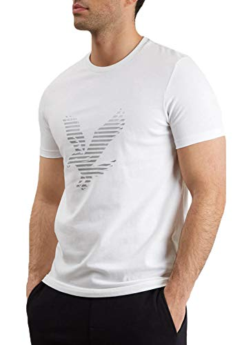 Scott Weiß Logo (Lyle and Scott Casuals Logo T-Shirt Herren weiß, XXL)